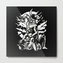 MMA Fighter (Vikings) Metal Print