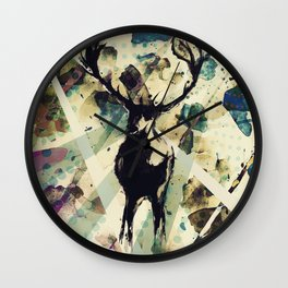 Ohh deer Wall Clock