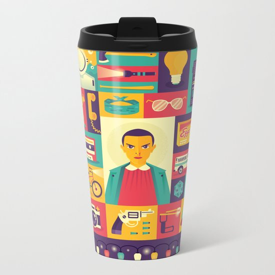Upside Down Metal Travel Mug