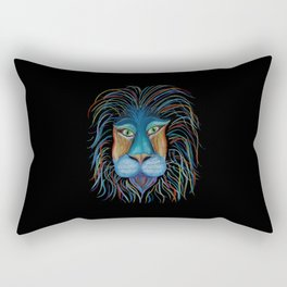 Colorful King Rectangular Pillow