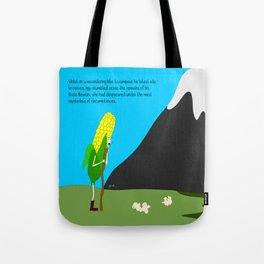 raw corn. Tote Bag