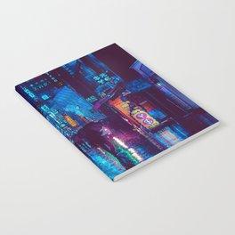 Rainy Night In Gangnam District Notebook