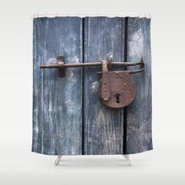 Padlock III Shower Curtain