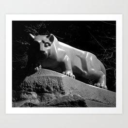 Penn State Nittany Lion Shrine Art Print