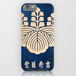 toyotomi hideyoshi kamon iPhone Case
