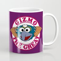 gizmo Mugs featuring Gizmo the Great by Mike Boon