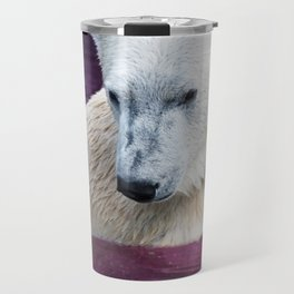 Space Bear Ponders Her Lonely Existence Travel Mug