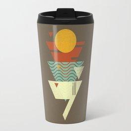 Sun. Sea. Sand. Shark. Travel Mug