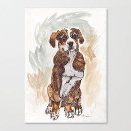 Roscoe Canvas Print