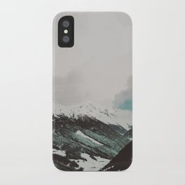 Moody Mountains iPhone Case