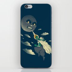 how to defeat the moon iPhone & iPod Skin