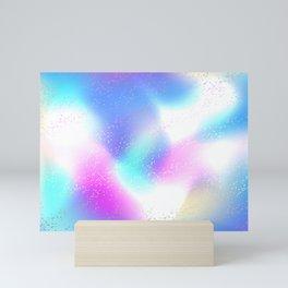 Holographic Background Mini Art Print