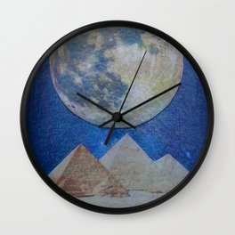 Moon Party Wall Clock
