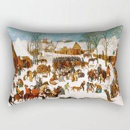 Massacre of the Innocents by Pieter Bruegel the Elder Rectangular Pillow