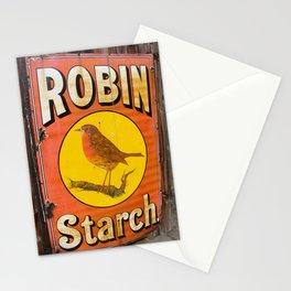 Robin Starch Stationery Cards