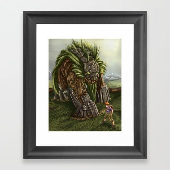 Earth Spirit Framed Art Print