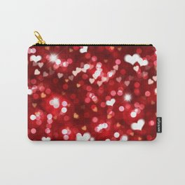 Heart Shaped Bokeh Carry-All Pouch