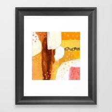 Goldish Framed Art Print