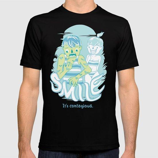 Smile It's contagious :D T-shirt