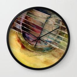 Ovation Acoustic Guitar Wall Clock