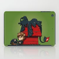 peanuts iPad Cases featuring Dragon Peanuts 2 by le.duc