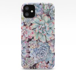 succulent garden 3 iPhone Case