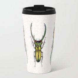 Cyclommatus Elaphus (Stag Beetle) Travel Mug