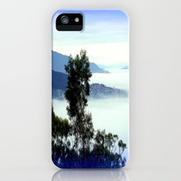 Fog blanketing Hobart for S.Ellen iPhone Case