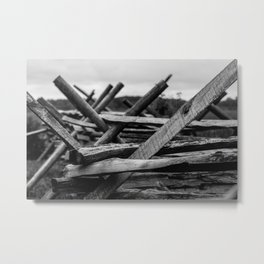 Battle Metal Print