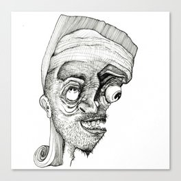 Mullet. Canvas Print