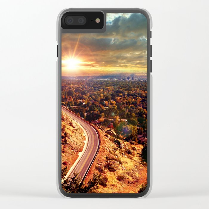 Billings Montana 2 Clear iPhone Case