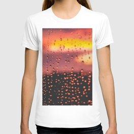 Rainy, Cozy Sunset T-shirt