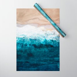 Watercolour Summer beach III Wrapping Paper