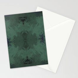 Spongey Existence in Teal Stationery Cards
