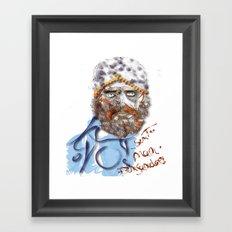 Mustafa' Framed Art Print