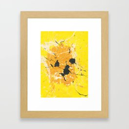 Yellow Cat Framed Art Print