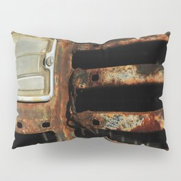 Detail Rusted International Truck1. Pillow Sham