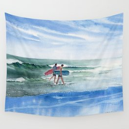 The Surfers Wall Tapestry