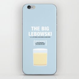 THE BIG LEBOWSKI _MOVIE COCKTAIL_ Coen Brothers iPhone Skin