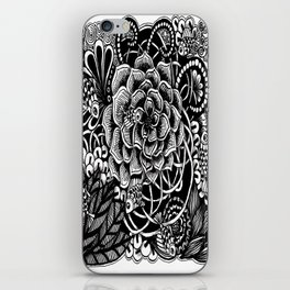 Zentangle Fishes! Fishes! Fishes! iPhone Skin