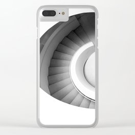 Spiral Staircase Clear iPhone Case