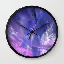 magic ice Wall Clock