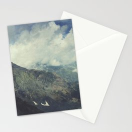 Valley and Mountains - Lombardia Italy Stationery Cards