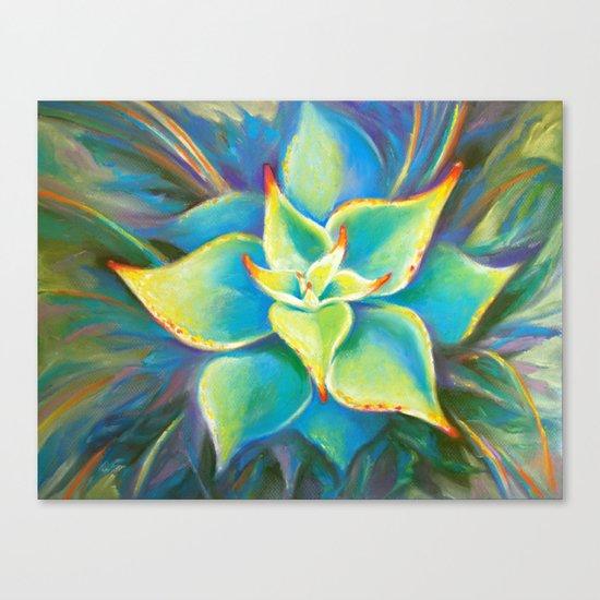 Succulent  Flower Canvas Print