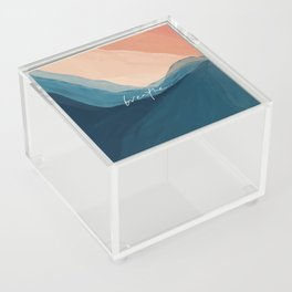 breathe. Acrylic Box