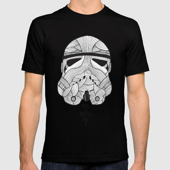 Stormtrooper: Another Drill (grey) T-shirt