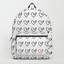 HEARTS ALL OVER PATTERN IV Backpack