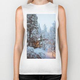 Yosemite Snow Storm Biker Tank
