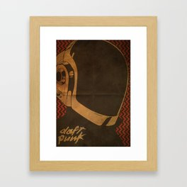 Daft Punk Guy-Manuel I Framed Art Print