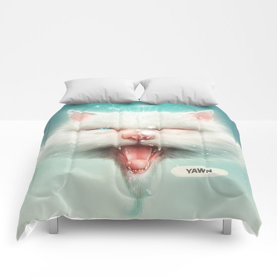 The Water Kitty Comforters